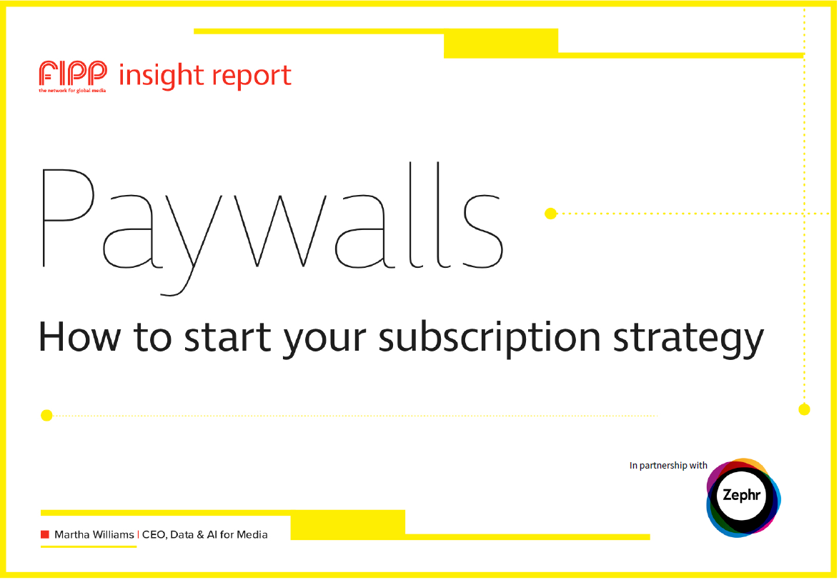 Zephr paywall insight report