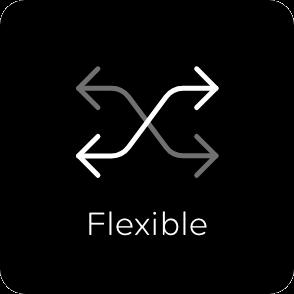 Flexible button