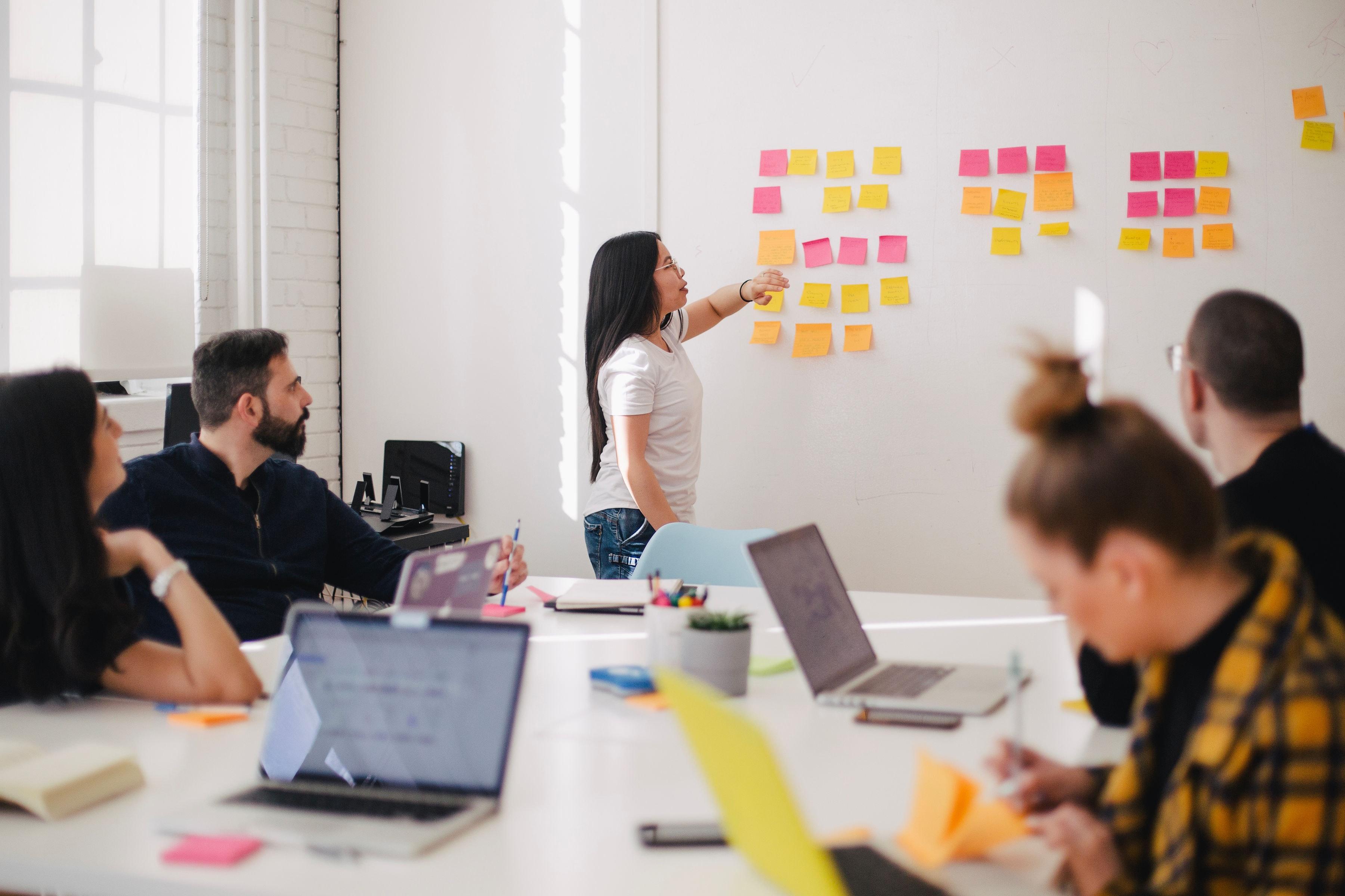 team brainstorm meeting